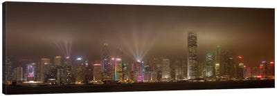 Hong Kong Island Canvas Art Print