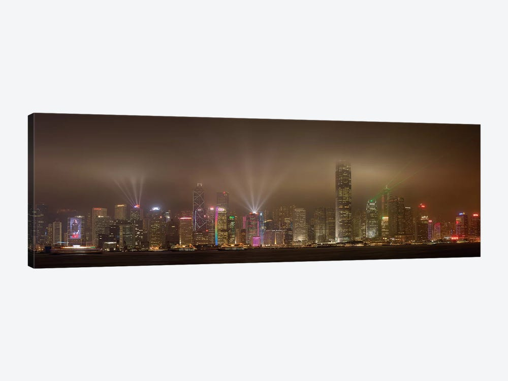 Hong Kong Island by Daniel Murphy 1-piece Canvas Wall Art