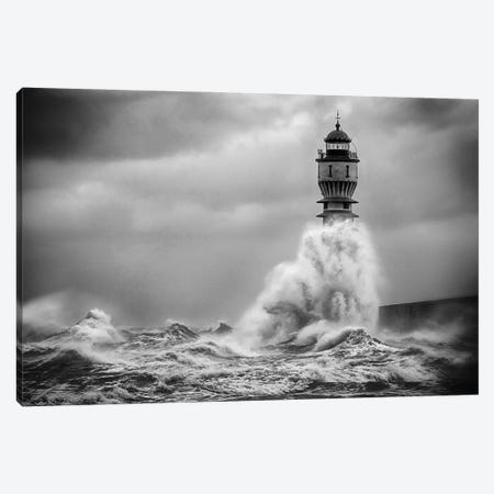 La Vague 3-Piece Canvas #OXM5689} by Stéphane Pecqueux Canvas Art Print