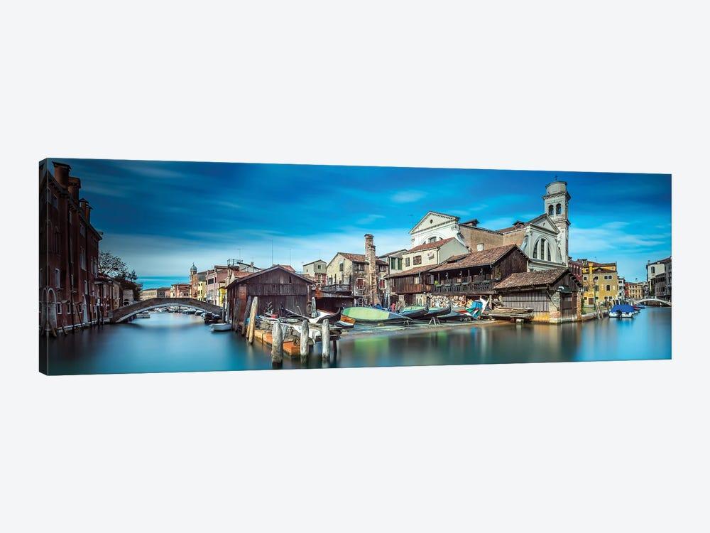 Gondola Workshop In Venice by Sven Kohnke 1-piece Art Print