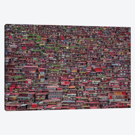 Larung Gar Canvas Print #OXM5697} by Tianyu Art Print