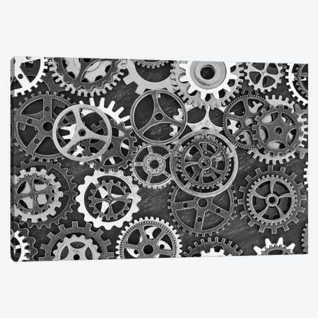 Just A Cog In The Wheel Canvas Print #OXM5704} by Udo Dittmann Canvas Print