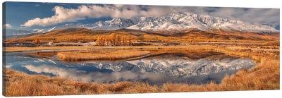Mirror For Mountains Canvas Art Print
