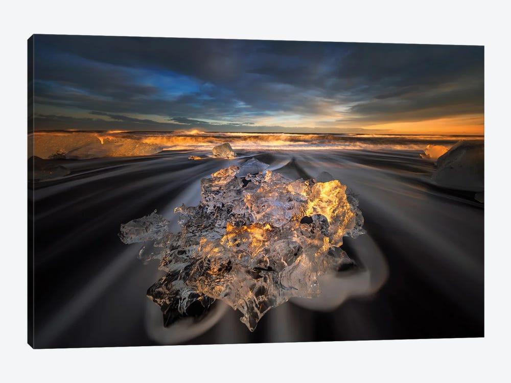 Jokulsarlon Diamond by Wojciech Kruczynski 1-piece Art Print