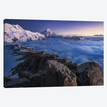 Above The Clouds Canvas Print #OXM5719} by Yan Zhang Art Print
