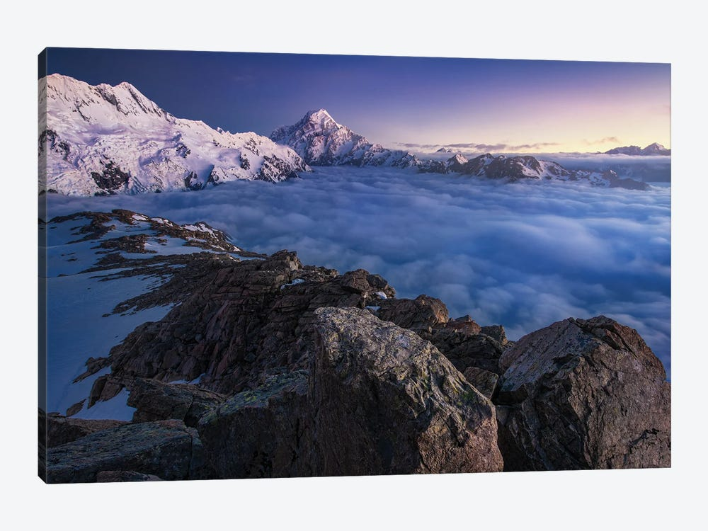 Above The Clouds by Yan Zhang 1-piece Canvas Wall Art