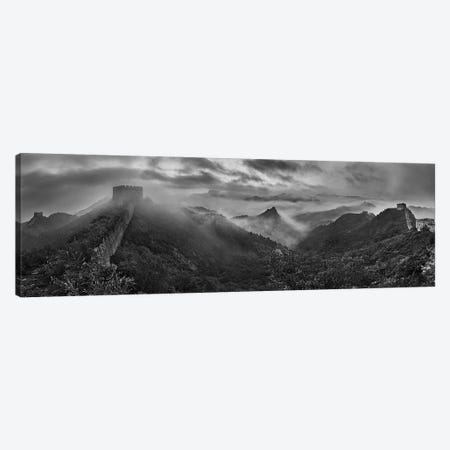 Misty Morning At Great Wall Canvas Print #OXM5721} by Yan Zhang Canvas Art