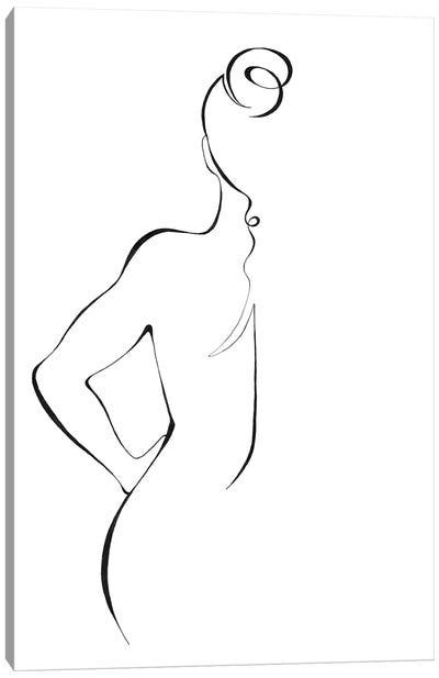 Body Lines Canvas Art Print