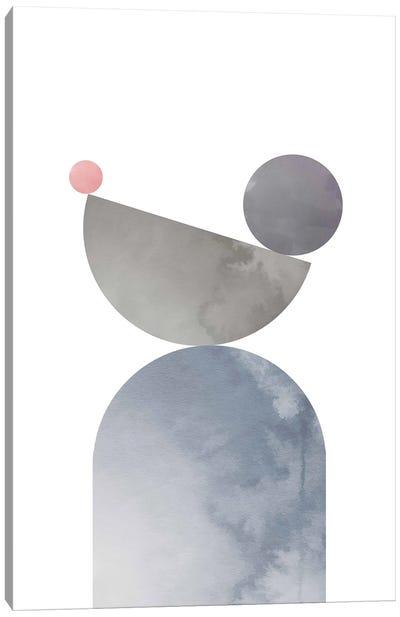 Geometrical Shapes I Canvas Art Print