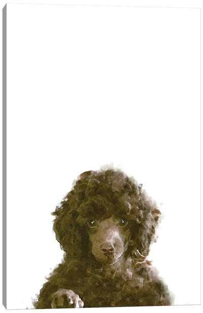 The Dog Canvas Art Print