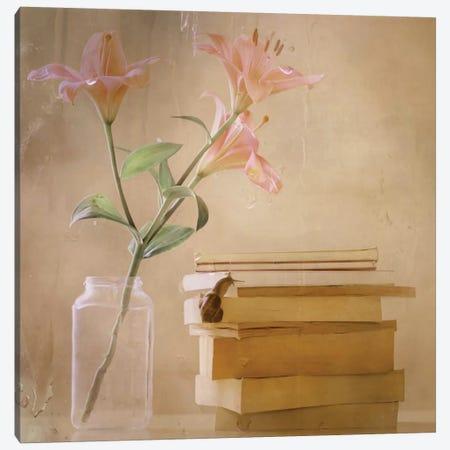Slowly But Surely Canvas Print #OXM576} by Delphine Devos Art Print
