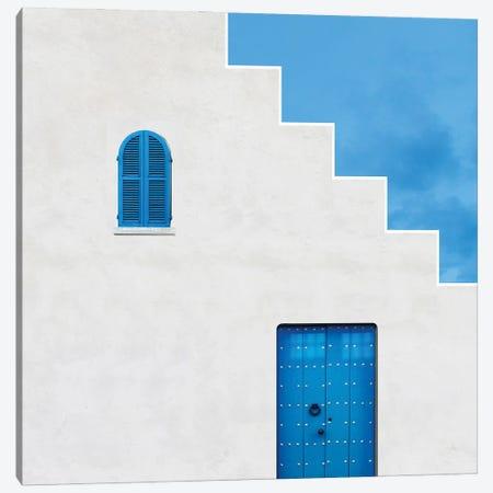 Life In Blue Canvas Print #OXM5797} by Alfonso Novillo Canvas Artwork
