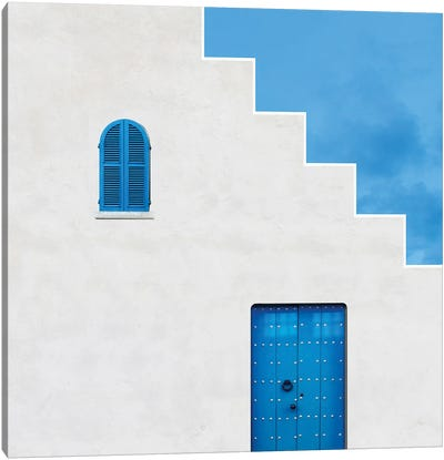 Life In Blue Canvas Art Print