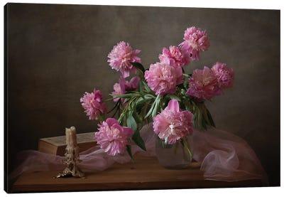 Bedside Vase Canvas Art Print