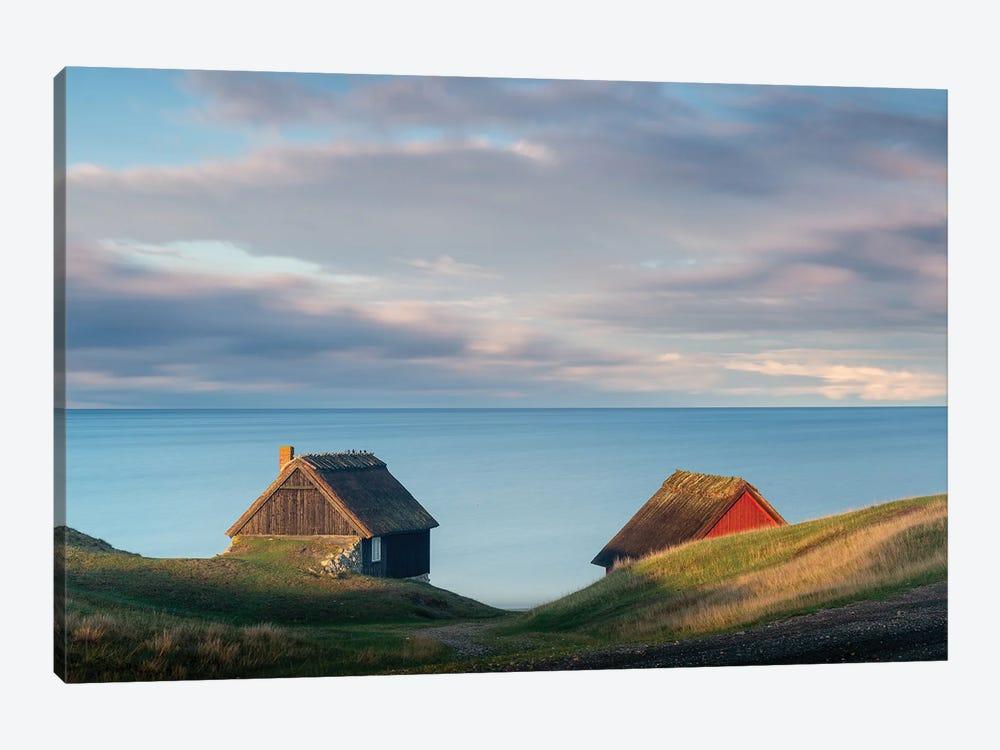 Cabins by Andreas Christensen 1-piece Canvas Artwork