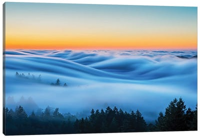 Flowing Clouds Canvas Art Print