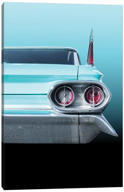 US Classic Car 1961 Sedan Deville Canvas Art Print