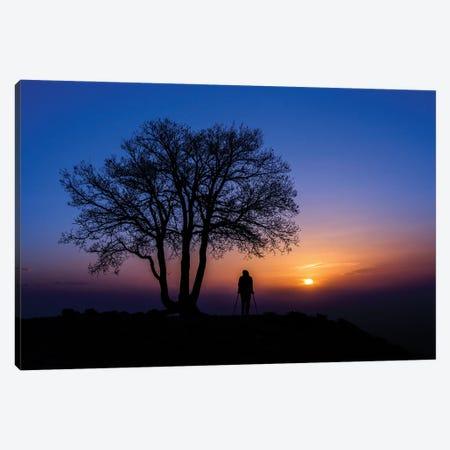 Sunset Canvas Print #OXM5874} by Emir Bagci Canvas Print