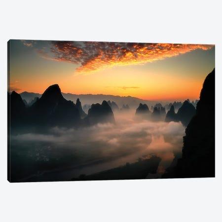 Xianggongshan-,Another World Canvas Print #OXM5879} by Fabrizio Massetti Canvas Art