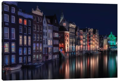Amsterdam Colors II Canvas Art Print