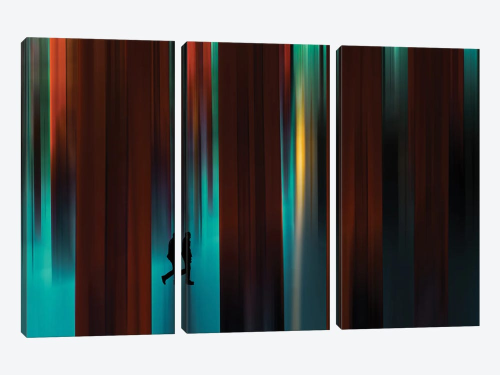 Untitled - Series Of Other Spaces by Gaia Rampon 3-piece Canvas Art
