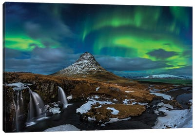 Magic Night Canvas Print #OXM589