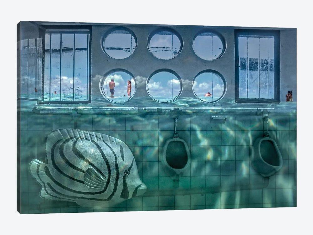 Sea Level by Holger Goehler 1-piece Canvas Art Print