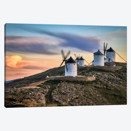Molinos Al Viento Canvas Print #OXM5955} by Juan Luis Seco Canvas Artwork