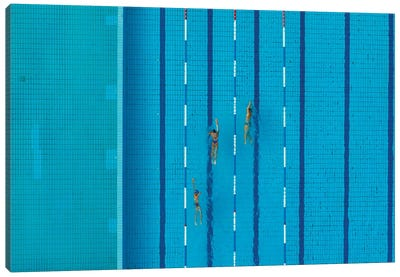 Swimming Pool Canvas Art Print