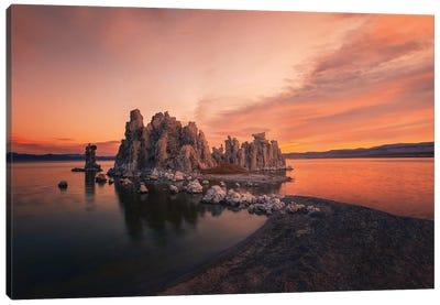 Mono Lake Morning Light Canvas Art Print