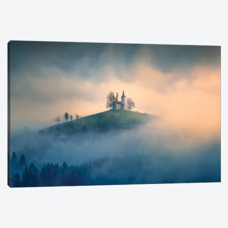 Morning Light Canvas Print #OXM5978} by Leah Xu Canvas Print