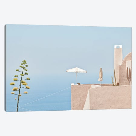 Where The Sea Meets The Sky Canvas Print #OXM5981} by Linda Wride Canvas Artwork