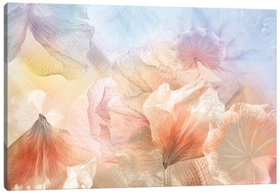 Ethereal Flowers Canvas Art Print