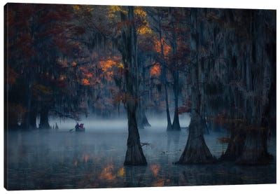 Morning Expedition Canvas Art Print