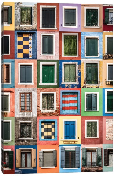 Windows Canvas Art Print
