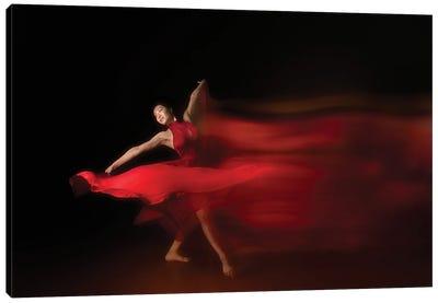 Flow Of Dance Canvas Art Print