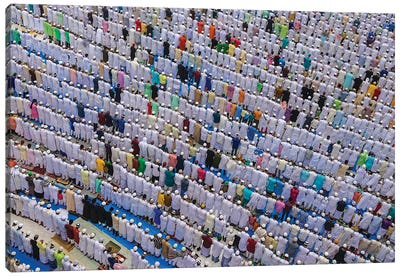 Patterns Of Eid Canvas Art Print