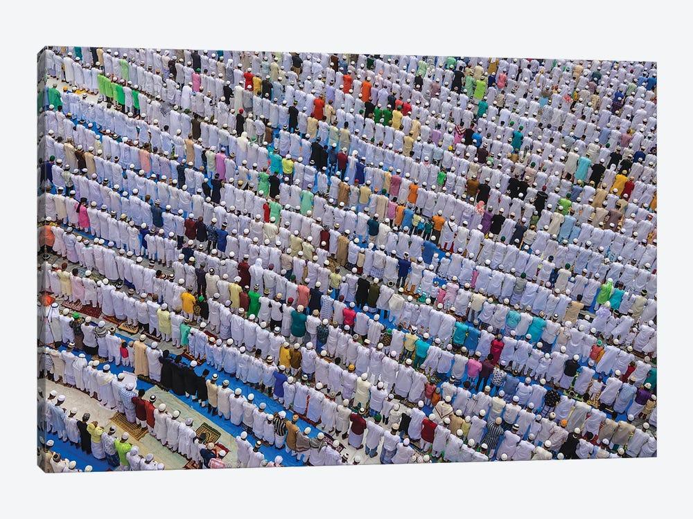 Patterns Of Eid by Saurabh Sirohiya 1-piece Canvas Wall Art