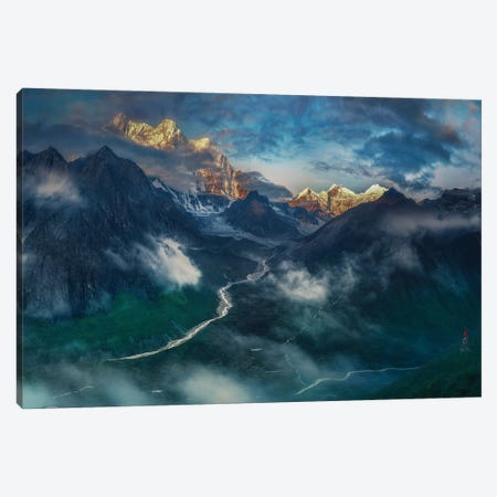 What A Wonderful World! Canvas Print #OXM6091} by Selions Canvas Wall Art