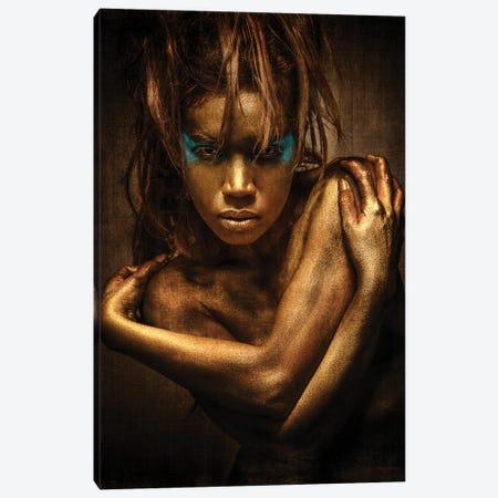Golden Girl Canvas Print #OXM6105} by Siegart Art Print