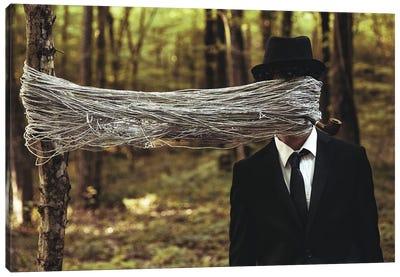 Blind Man Canvas Art Print