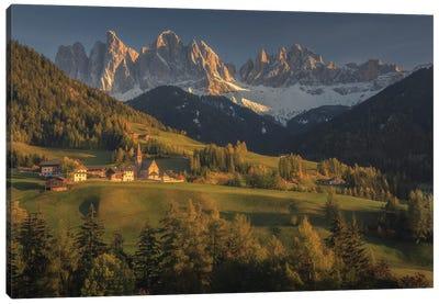 As Daylight Yields Canvas Art Print