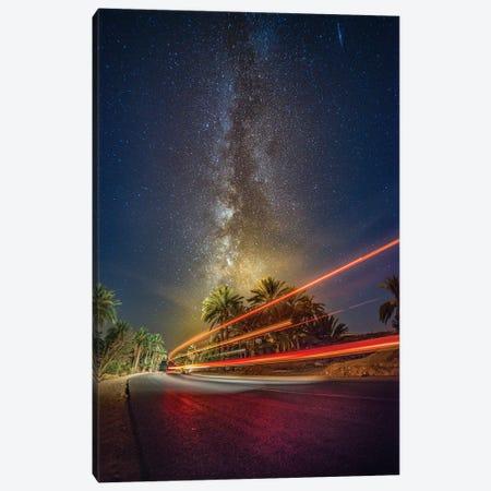 Galaxy Road Canvas Print #OXM6149} by Wail.Hamdane Canvas Artwork