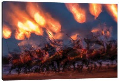 A Moment Of Fire Canvas Art Print