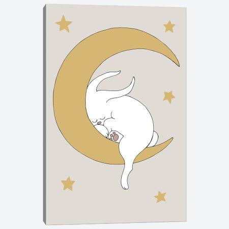 The Rabbit Canvas Print #OXM6195} by 1X Studio Ii Canvas Artwork