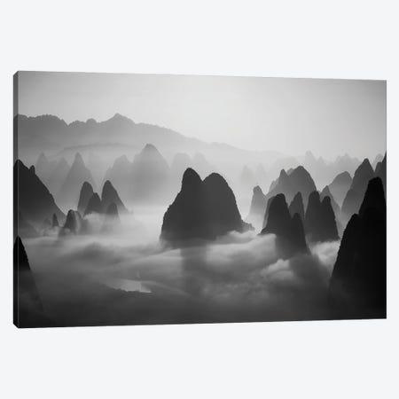 In The Clouds Canvas Print #OXM6264} by Fabrizio Massetti Canvas Art