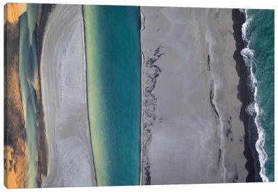 Icelandic Coastline Canvas Art Print