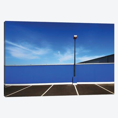 Parking In Blue Canvas Print #OXM6294} by Jure Kravanja Canvas Art Print
