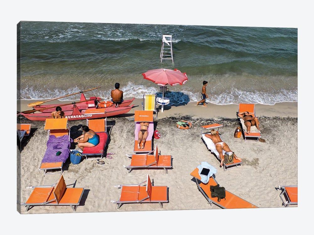 The Beach by Lorenzo Grifantini 1-piece Art Print