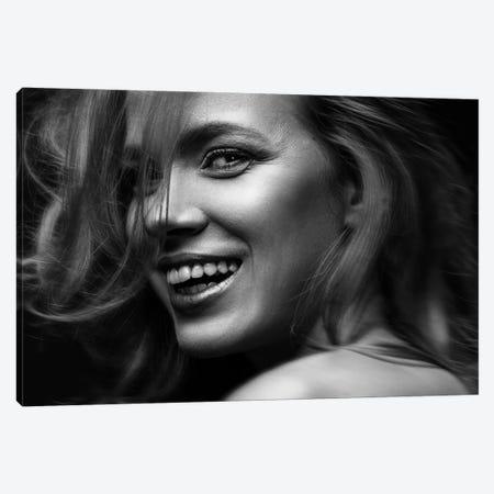 Smile Nikoleta Canvas Print #OXM6336} by Martin Krystynek Canvas Wall Art